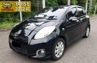 Jual Toyota Yaris E 2012 AT DP Minim