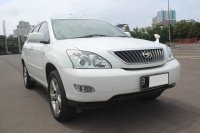 Jual TOYOTA HARRIER 2.4G AT PUTIH 2012