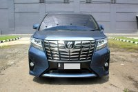Jual TOYOTA ALPHARD X AT BIRU 2015 ( LIMITED WARNA TNI AL)