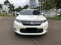 Jual Toyota: HARRIER AUDIOLESS AT PUTIH 2014 PAKAI 2015