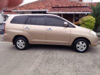 Jual Toyota Innova tipe G 2.0 A/T  2005 bensin pemilik langsung