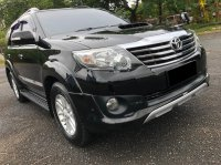 Jual Toyota: FORTUNER G TRD AT DIESEL HITAM 2013