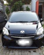 Toyota: Di Jual Mobil Agya tahun 2013 Warna Hitam. Matic.Atas nama Send