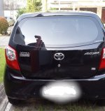 Toyota: Di Jual Mobil Agya tahun 2013 Warna Hitam. Matic.Atas nama Send (Agya4.jpg)