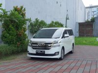 Jual Toyota vellfire G Atpm tahun 2015
