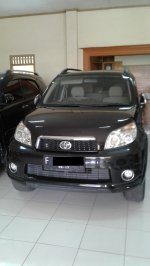 Jual Toyota Rush Type (S) 2012 HITAM