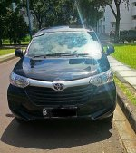 Dijual Toyota Grand NEW AVANZA 2015 Hitam Tipe E Manual