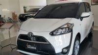 Jual Toyota Sienta G 2017 PROMO Angsuran Ringan DP Murah