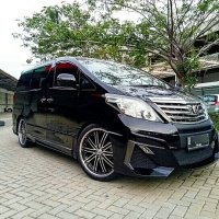 Jual Toyota Alphard 2.4 at 2010