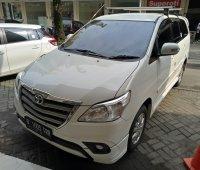 Jual 2013 Toyota Innova G Lux AT Bensin Putih