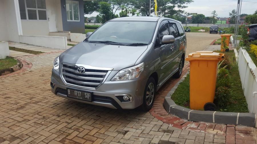 Toyota Kijang Innova V At Bensin Thn 2014 Km 18000 Ada Asuransi 2018