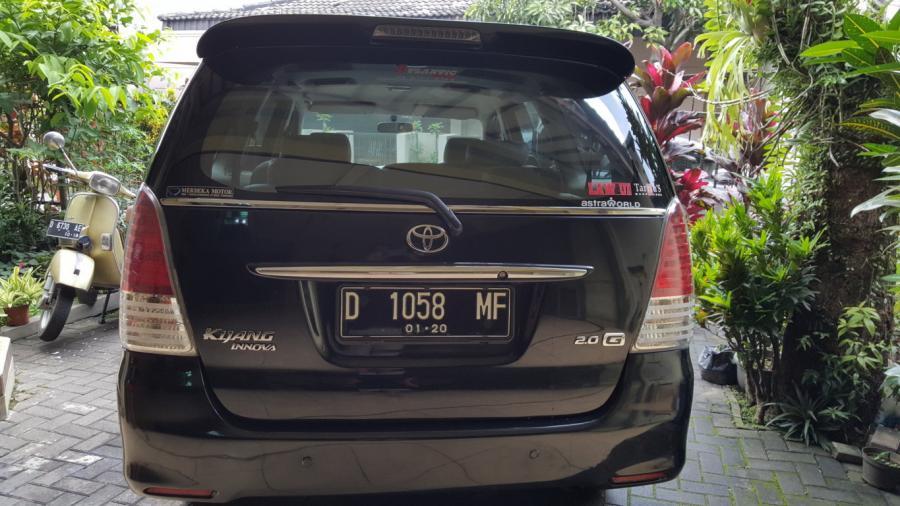 Dijual Innova G Manul M T Bensin 2010 Bandung Mobilbekas Com