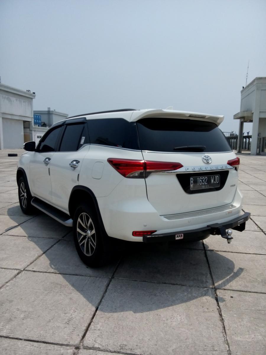 Toyota Fortuner Vrz Lux Diesel Matic 2016 Putih Km 9 Rb