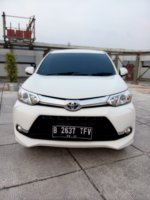 Jual Toyota all new avanza 1.5 veloz matic 2016 putih km 9 rban