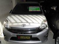 Toyota: Agya G'14 AT silver Pajak Baru April'18 mobil Bagus Terawat