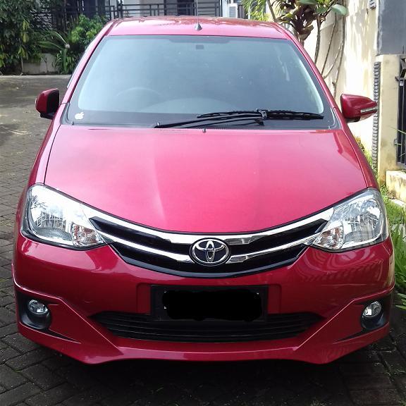 DIJUAL CEPAT Toyota Etios 1.2 G M/T Valco 2015 Merah ...