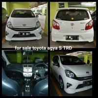 Jual Toyota Agya type tertinggi S TRD
