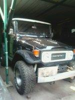 Jual Toyota: Landcruiser Hardtop 40 series Diesel Hitam