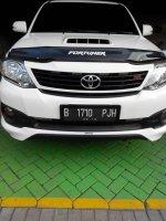 Jual Toyota Fortuner TRD VNT 2014 putih