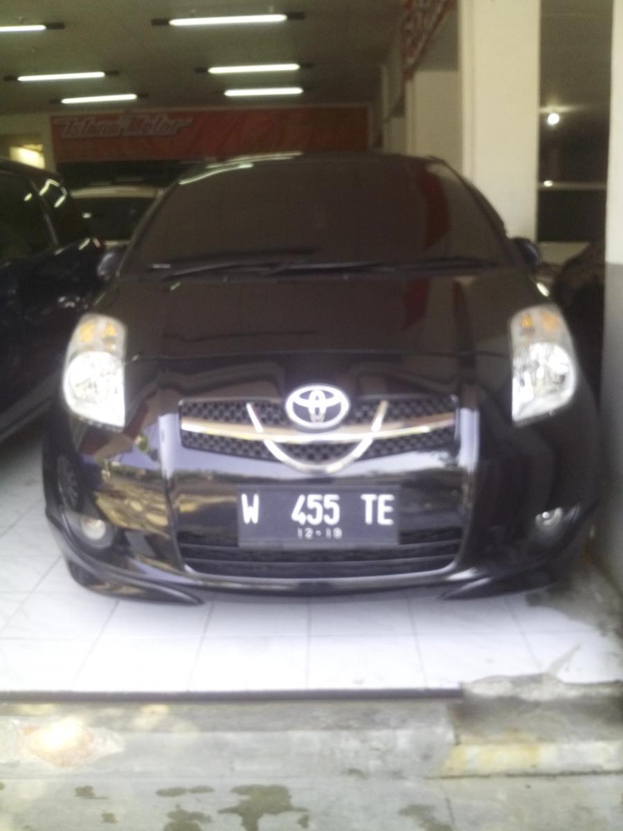 Toyota YARIS E 2007 manual hitam.Dp'10jt - MobilBekas.com