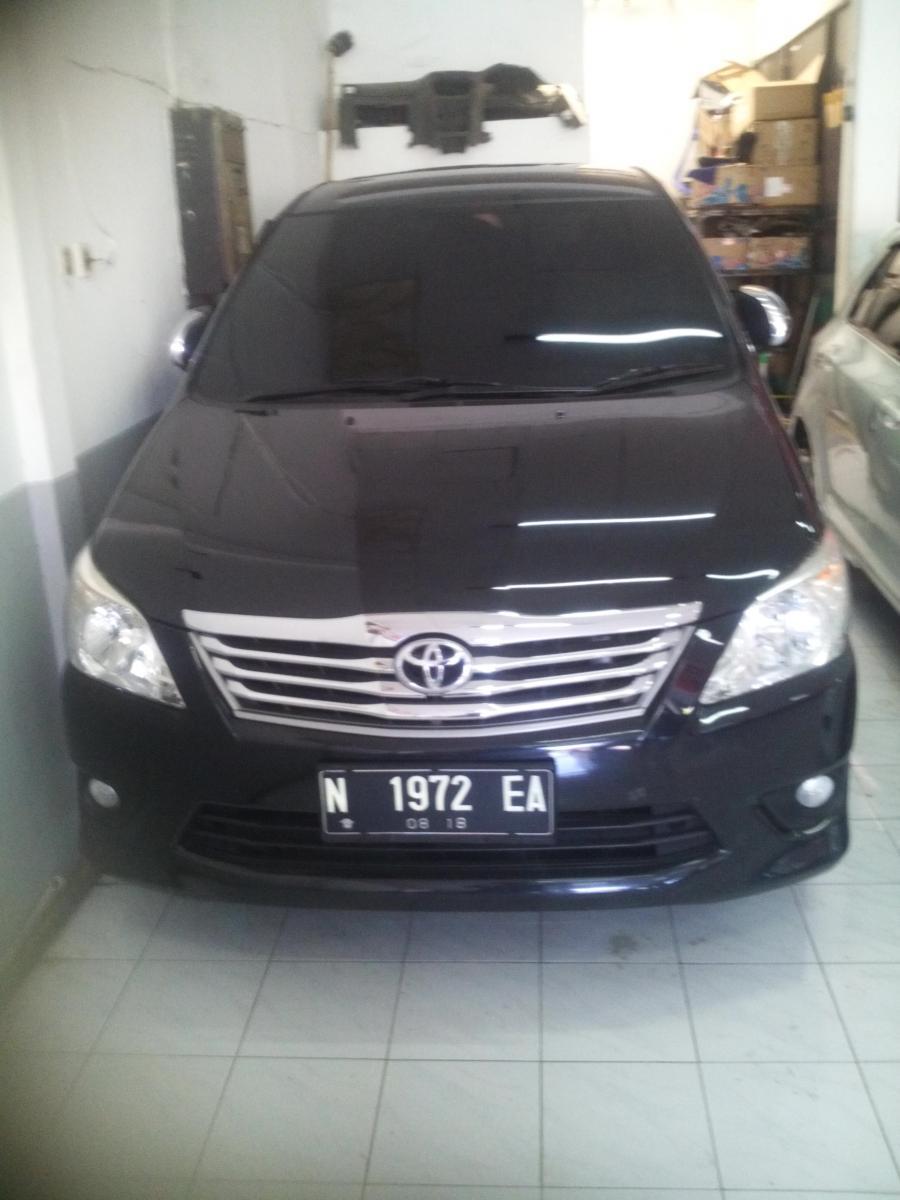 toyota innova g diesel 2013 hitam - mobilbekas