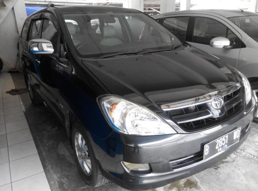 JUAL Toyota Innova V Automatic Tahun 2004 Hitam met ...