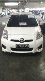 Jual Toyota Yaris 'E' putih matic