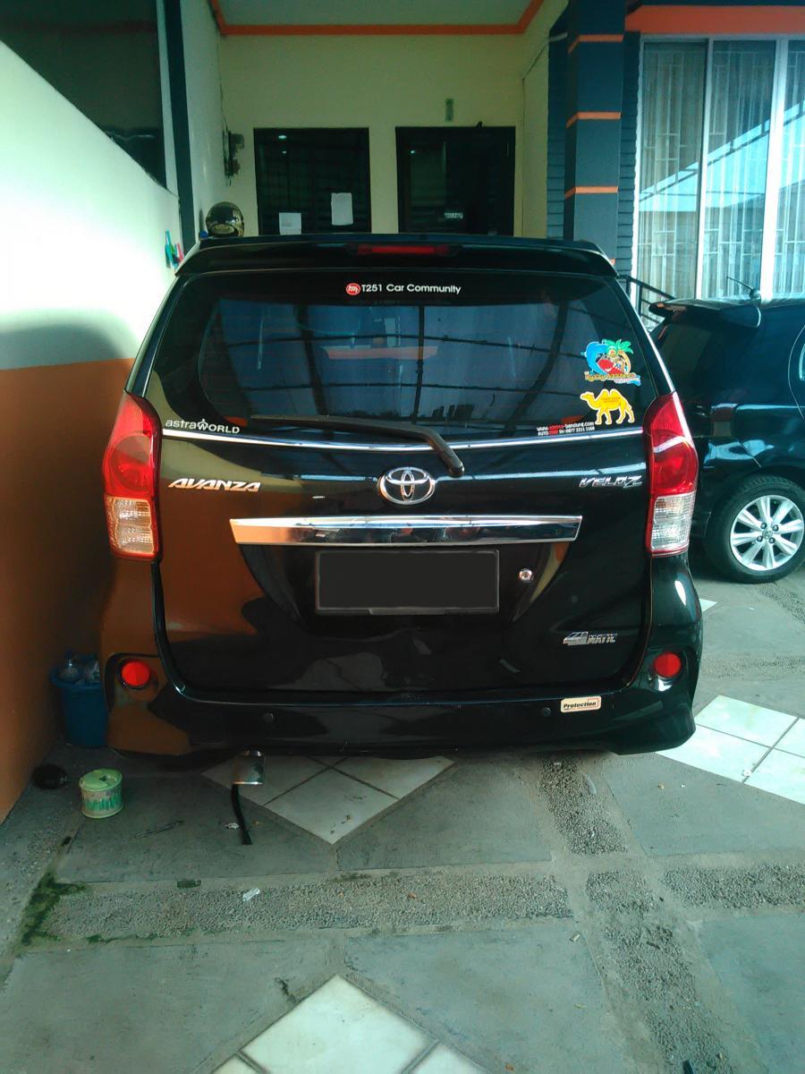 toyota avanza veloz a/t automatic 2012 - mobilbekas