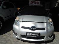 Toyota: YARIS E'12 MT SILVER Model Baru Pjk Jan'18 Ban Serep Belum Turun