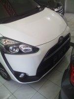 Jual Toyota SIENTA V 2016 putih.KM 2600