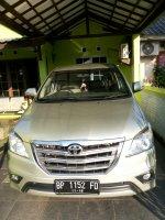 Jual Toyota: INNOVA V 2013 akhir grill besar km rendah di Batam