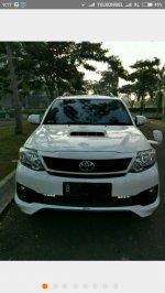 DIJUAL Toyota Fortuner TRD AT