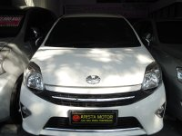 Jual Toyota: AGYA G'13 PMK 2014 AT Warna Favorit Putih KM 43rb Asli