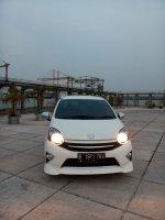 Jual Toyota Agya trd sportivo matic 2013 putih Tgn 1 dari baru  km 40 rban