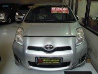 Jual Toyota: Yaris E'13 MT Silver Double Air Bag Km 11 Rb Mobil Bagus dan Terawat