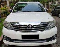 Dijual Toyota Fortuner Tahun 2012