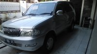 Jual Toyota Kijang LGX LUX Matic 2001 Silver Metallic Modifikasi 2004 Mulus