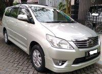 Jual Toyota: 2013 Innova tipe G Luxury Automatis Silver, Mulus, Pemakai sendiri
