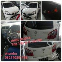 Jual Toyota: T.Agya G airbag2014 matic Tdp15 Nego