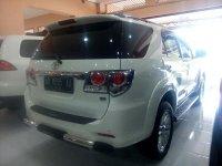 Toyota: Grand New Fortuner G Luxury Tahun 2012 (belakang.jpg)