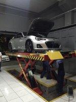 Toyota FT 86: Subaru BRZ A/T 2014 Plat B(jkt) Lookasi Bandung, Silver metalik (IMG_7192.JPG)