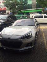 Toyota FT 86: Subaru BRZ A/T 2014 Plat B(jkt) Lookasi Bandung, Silver metalik (IMG_7191.JPG)