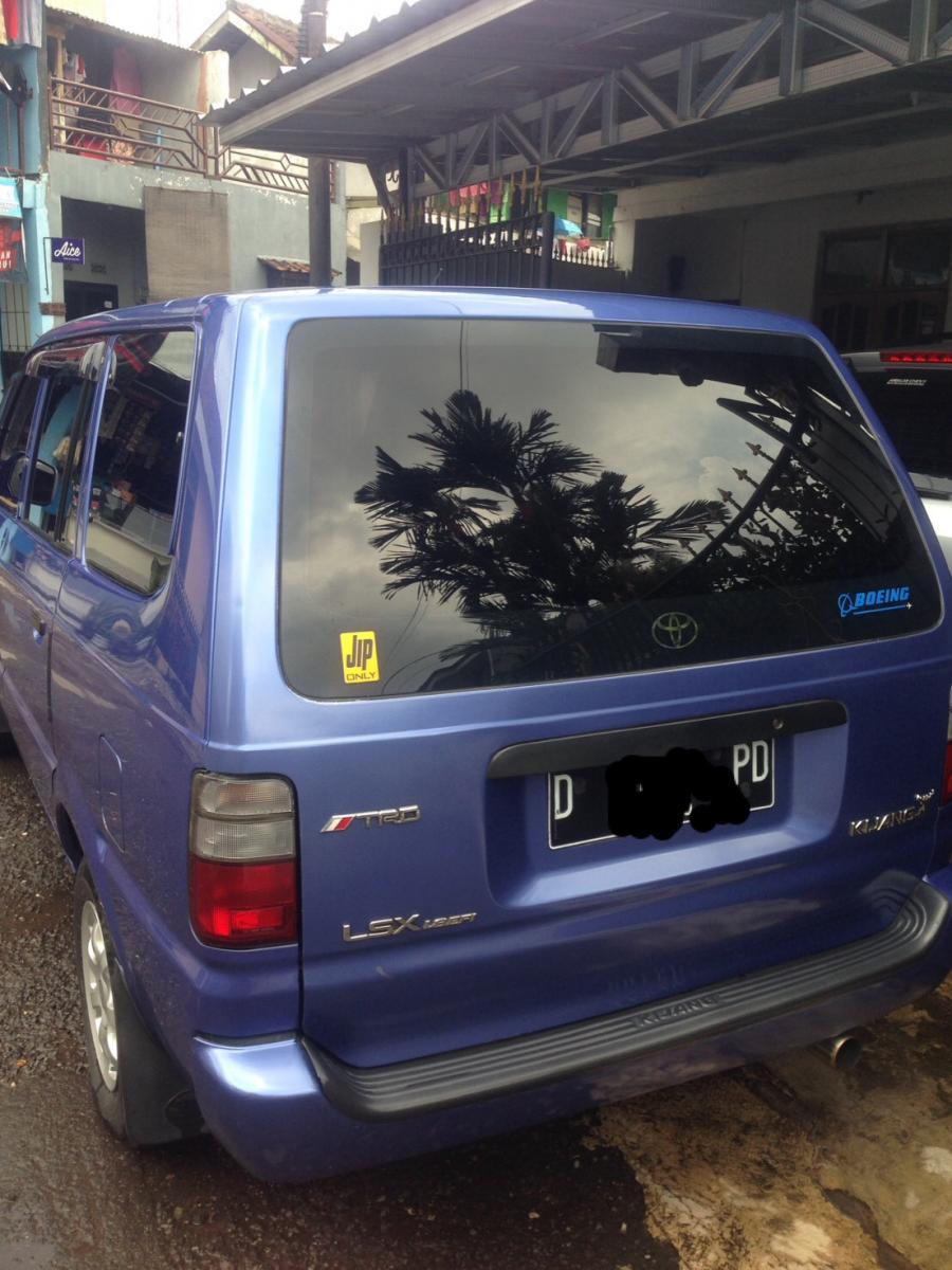 jual mobil bekas toyota kijang kapsul type lsx tahun 2001