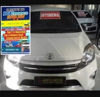 Jual Toyota: Agya G'14 MT putih km 7rb asli