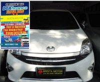 Toyota: AGYA G'13 PMK 2014 AT Warna Favorit Putih KM 43rb Asli