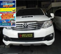 Jual Toyota: GRAND FORTUNER VNT TRD S'13 AT Putih Warna Favorit Mobil sgt Terawat
