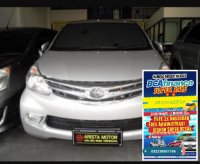 Toyota: All new Avanza G'13silver double air bag
