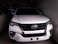 Jual Toyota Fortuner 2.7 SRZ A/T (2016)km 3500 warna putih tangan pertama