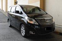 Jual Toyota Alphard 2012 Hitam 1 Tangan Dari Baru ( Mobil Rawatan )
