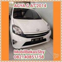 Toyota AGYA G 2014#MobilBekasSby